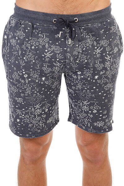 Шорты классические Quiksilver Cyclopsshort Navy Blazer Heather