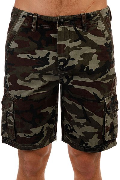 Шорты классические Quiksilver Everyday Deluxe Deluxe Camoflage сумка дорожная quiksilver horizon nasturticm everyday