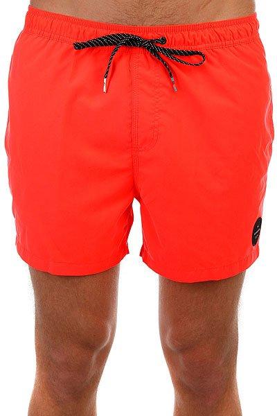 Шорты пляжные Quiksilver Everysolidvol15 Fiery Coral<br><br>Цвет: оранжевый<br>Тип: Шорты пляжные<br>Возраст: Взрослый<br>Пол: Мужской
