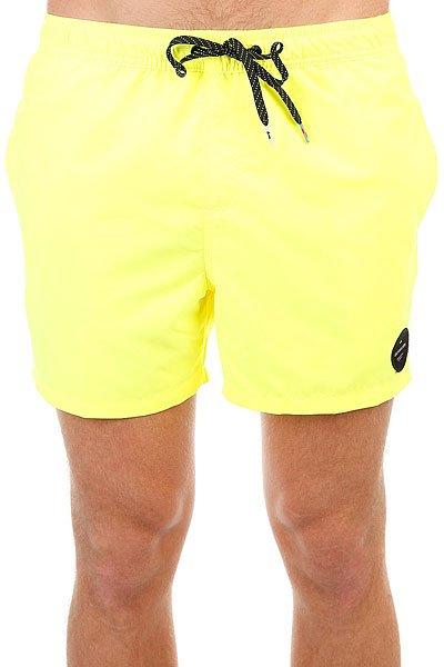 Шорты пляжные Quiksilver Everysolidvol15 Safety Yellow<br><br>Цвет: желтый<br>Тип: Шорты пляжные<br>Возраст: Взрослый<br>Пол: Мужской