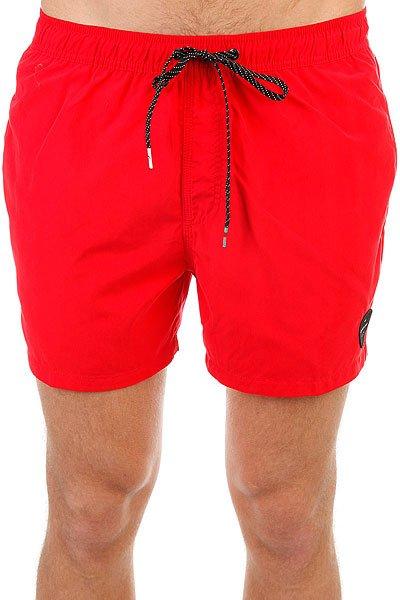 Шорты пляжные Quiksilver Everysolidvol15 Quik Red<br><br>Цвет: красный<br>Тип: Шорты пляжные<br>Возраст: Взрослый<br>Пол: Мужской