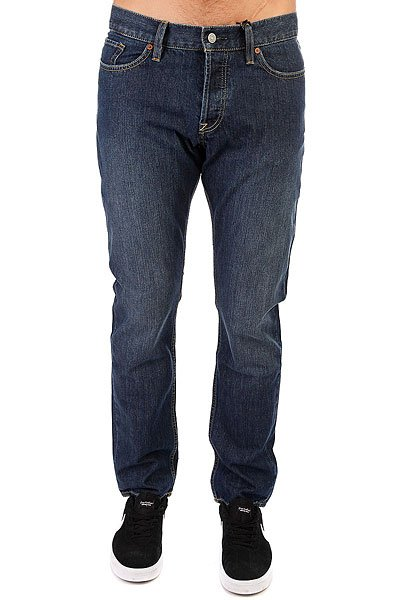 Джинсы прямые DC Worker Straight Stone Washed