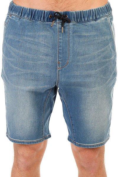 Шорты джинсовые Quiksilver Fonicdenflshblu Blur<br><br>Цвет: синий<br>Тип: Шорты джинсовые<br>Возраст: Взрослый<br>Пол: Мужской