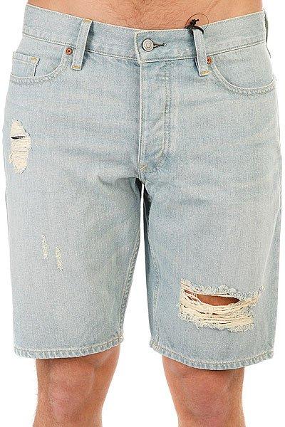 Шорты джинсовые DC Washed Str Dt S Light Indigo Bleach<br><br>Цвет: голубой<br>Тип: Шорты джинсовые<br>Возраст: Взрослый<br>Пол: Мужской