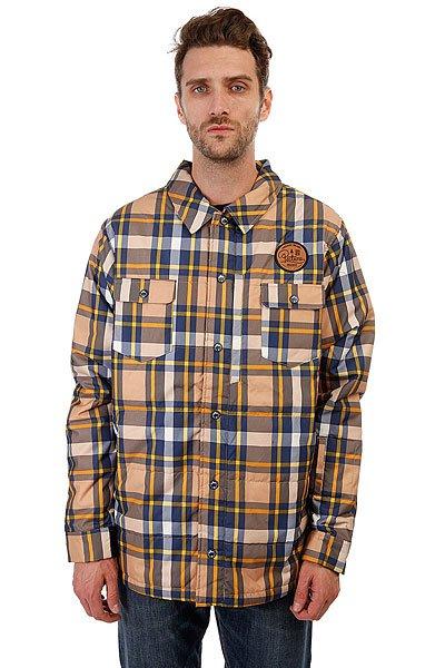 Куртка Picture Organic 5/5 Picture Organic Ridingo Shirt Brown Plaid куртка picture organic atlas black fluo yellow