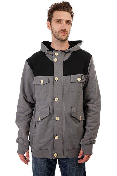Толстовка сноубордическая Picture Organic Zipper Grey<br><br>Цвет: серый,черный<br>Тип: Толстовка сноубордическая<br>Возраст: Взрослый<br>Пол: Мужской