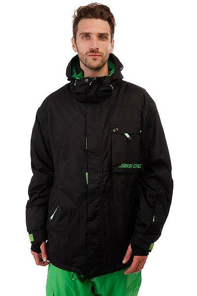 Куртка утепленная Santa Cruz Sc 10/11 Escee Black