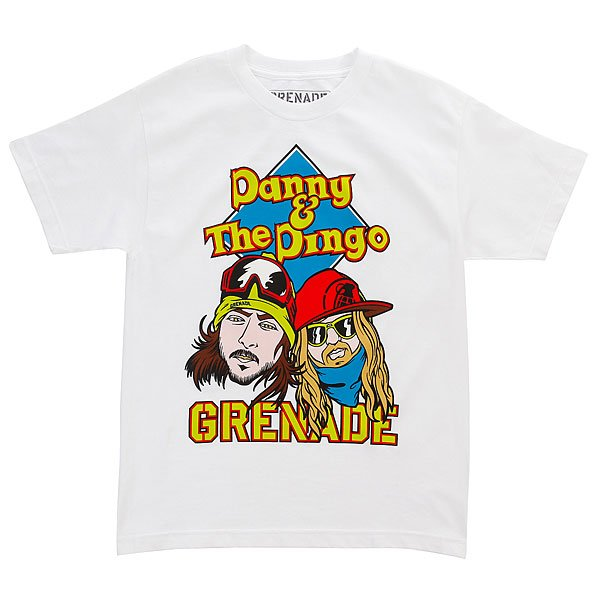 Футболка детская Grenade Danny & Dingo White футболка lasting dingo 6262 xl мужская