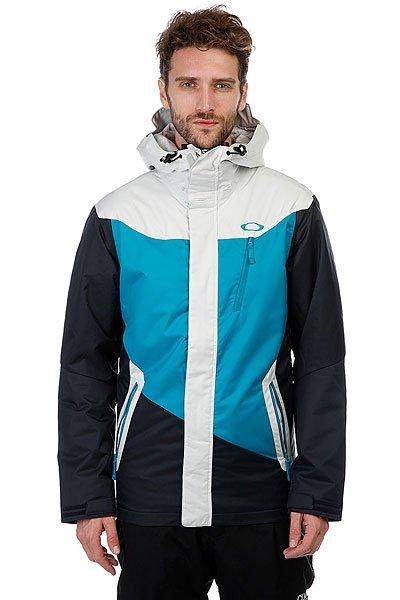 Куртка утепленная Oakley Minaret Jacket Navy BlueПроизводительная куртка с водонепроницаемой мембраной Hydrogauge™ 10 и утеплителем Thinsulate™ для комфортной защиты от мороза на склоне.Технические характеристики: Дышащая, прочная и водонепроницаемая мембрана Hydrogauge™ 10.Подкладка - полиэстер.Утеплитель Thinsulate™.Капюшон и манжеты OOR™.Вентиляционные отверстия в области подмышек для улучшенной воздухопроницаемости.Скрепленные швы в зонах высокого износа для повышенной прочности.Карманы для рук.Карман для маски.Фиксированная снежная юбка с Lycra®.Подол с регулировкой.<br><br>Цвет: черный,голубой,серый<br>Тип: Куртка утепленная<br>Возраст: Взрослый<br>Пол: Мужской