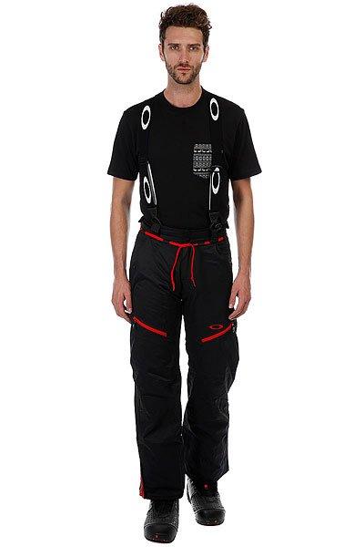 Штаны сноубордические Oakley Banfield Pant Jet Black