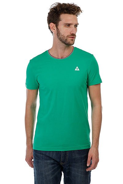 Футболка Le Coq Sportif Anglin Etienne<br><br>Цвет: зеленый<br>Тип: Футболка<br>Возраст: Взрослый<br>Пол: Мужской
