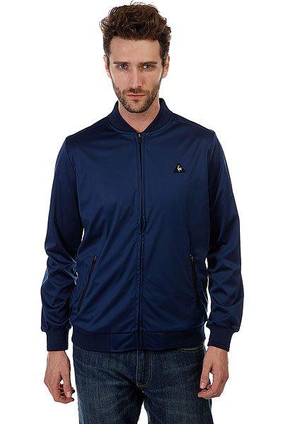 Бомбер Le Coq Sportif Domia Jacket Blue IndigoЛегкая куртка-бомбер для весеннего сезона.Характеристики:Застежка-молния. Эластичные манжеты на рукавах, поясе и воротнике.Карманы на молниях.<br><br>Цвет: синий<br>Тип: Бомбер<br>Возраст: Взрослый<br>Пол: Мужской