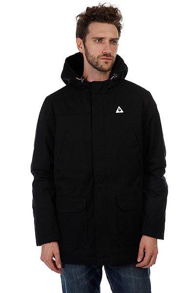 Куртка парка Le Coq Sportif Cebrifa Parka BlackУтепленная куртка-парка для комфортного и легкого времяпровождения на свежем воздухе.Характеристики:Застежка-молния+кнопки. Внутренняя подкладка.Фиксированный капюшон. Накладные карманы для рук. Прорезные карманы на груди.<br><br>Цвет: черный<br>Тип: Куртка парка<br>Возраст: Взрослый<br>Пол: Мужской