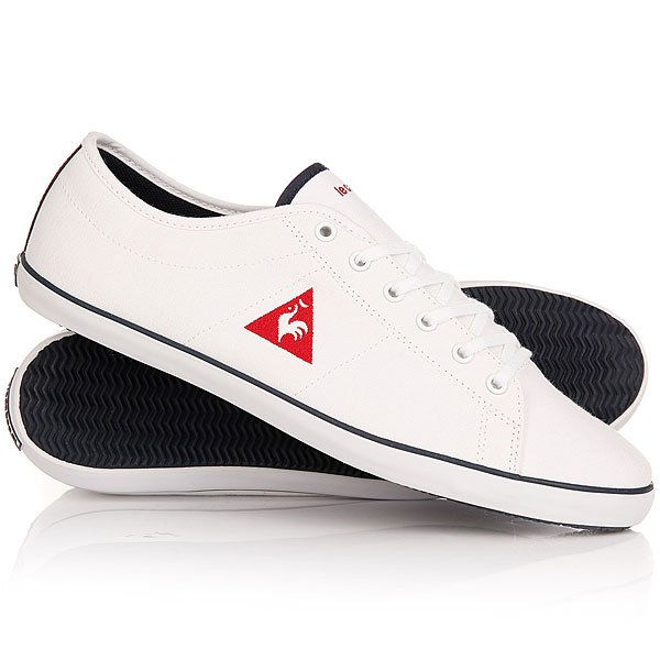 Кеды кроссовки низкие Le Coq Sportif Cvs Optical White кеды кроссовки высокие le coq sportif portalet mid craft hvy cvs suede dress
