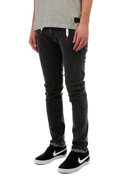 Джинсы узкие Skills Slim Flex Dark Grey
