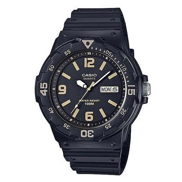 Кварцевые часы Casio Collection Mrw-200h-1b3 Black кварцевые часы casio collection mq 24 1b3 black