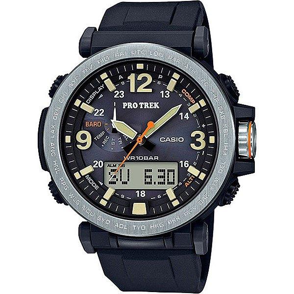 Электронные часы Casio Sport Prg-600-1e Black батарейка для часов в алматы
