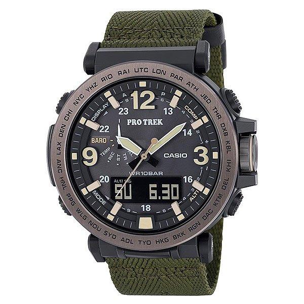 Электронные часы Casio Sport Prg-600yb-3e Black/Green батарейка для часов в алматы