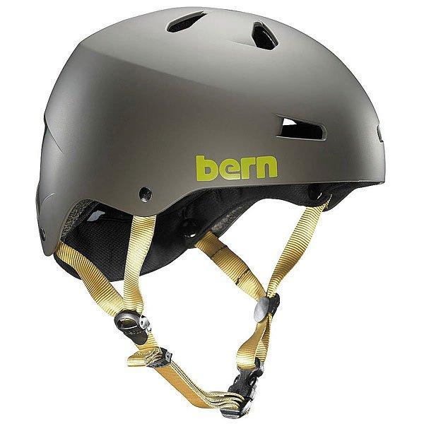 Шлем для сноуборда женский Bern Water Macon Matte Grey<br><br>Цвет: серый<br>Тип: Шлем для сноуборда<br>Возраст: Взрослый<br>Пол: Женский