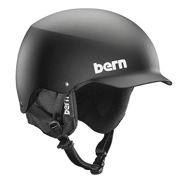 Шлем для скейтборда Bern Team Baker Matte Black/Black Cordova EarflapsЗнаменитый шлем с козырьком (патент № USA D572, 865 S). Этот шлем представил двукратный Олимпийский чемпион игр в Турине в 2006 году Сэт Уэскотт. «Bern создали самый стильный шлем. Я катался в про-модели Bern Baker 4 года, потому что это он выглядит лучше и подходит мне гораздо больше, чем любой другой.» - Сэт Уэскотт. В комплекте идет зимний внутренник c регулировкой по размеру Crank Fit.Технические характеристики: Пена EPS - наполнитель, сохраняющий свои свойства после множества ударов.Ультра тонкий корпус Thin Shell специально разработан для пены EPS, предназначен для защиты от сильных ударов.Соответствует стандартам CPSC (велосипед и ролики), ASTM F 2040, EN1078 (зимние виды спорта).<br><br>Цвет: черный<br>Тип: Шлем для сноуборда<br>Возраст: Взрослый<br>Пол: Мужской