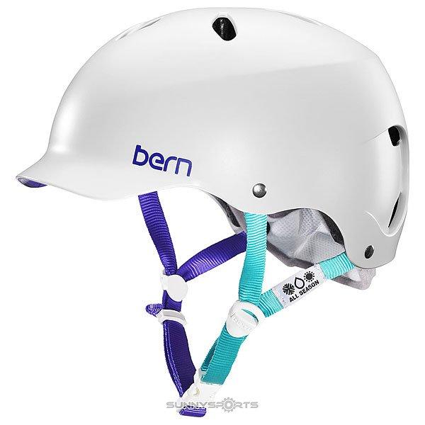 Шлем для сноуборда женский Bern Snow Eps Lenox Eps Satin White W/Grey Liner