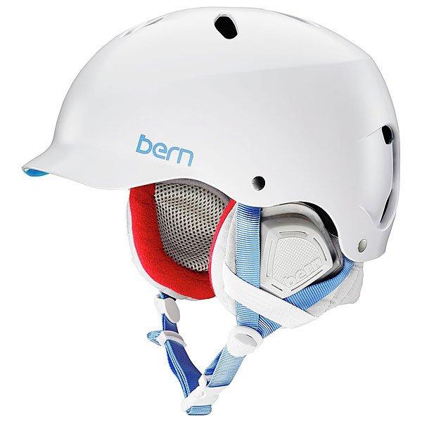 Шлем для сноуборда женский Bern Lenox White/Grey Premium LinerLenox - сестра-близнец модели Watts. Для того, чтобы создать максимальную защиту головы для девушек, Bern объединил стиль и функциональность и теперь может дать девушкам именно то, что они искали: Lenox - шлем, который не подведет тебя ни в каких условиях. В комплекте идет зимний внутренник c регулировкой по размеру Crank Fit.Технические характеристики: Пена EPS - наполнитель, сохраняющий свои свойства после множества ударов.Ультра тонкий корпус Thin Shell специально разработан для пены EPS, предназначен для защиты от сильных ударов.Соответствует стандартам CPSC (велосипед и ролики), ASTM F 2040, EN1078 (зимние виды спорта).Шлем совместим с аудио системой.<br><br>Цвет: белый<br>Тип: Шлем для сноуборда<br>Возраст: Взрослый<br>Пол: Женский