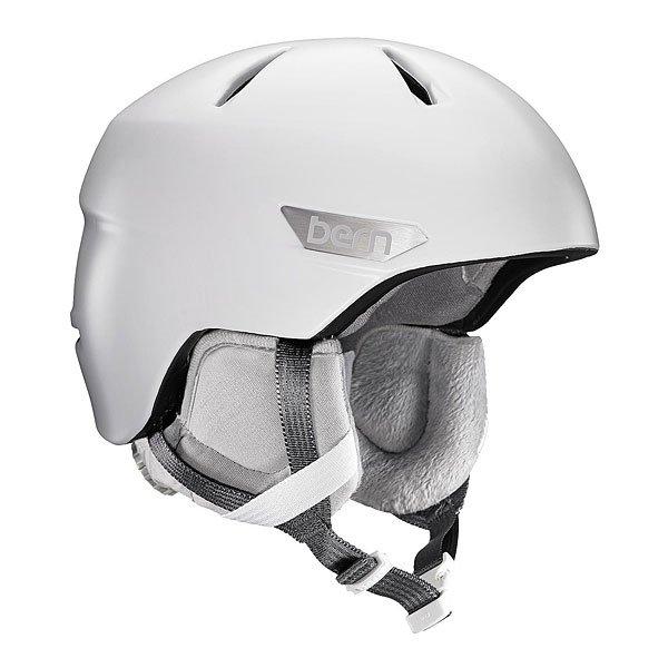 Шлем для сноуборда женский Bern Bristow Satin White/Grey Canvas LinerВсесезонный шлем BERN BRISTOW с отстегивающимся лайнером (подкладкой).Уникальная конструкция шлема позволяет использовать его для зимних и летних видов спорта, причем даже для водных.Кроме того, только у BERN теплый внутренний лайнер с мягкой флисовой отделкой внутри, создает впечатление что у вас на голове не шлем а шапка, и эти вставки в шлем абсолютно автономны и могут продаваться отдельно. Купив зимой шлем, летом вы просто снимаете вязаный лайнер и шлем готов для использования.Характеристики:Особенность этой модели это встроенная система вентиляцииStealth Sliderкоторая регулируется с внутренней стороны шлема. Это убережет ее от обледенения и в любой момент вы сможете открыть или закрыть проветривание. Zip Mold ™– запатентованный наполнитель который образует единую спаянную между собой внутреннюю и внешнюю защитную часть шлема, позволяющий добиться минимального веса шлема (всего 300-350гр.) BOA Premium Liner —Премиум лайнер с точной микро регулировкой BOA. Защита ушей с ауди-подготовкой — куда вы можете вставить свои аудио-наушники и наслаждаться любимым плейлистом во время катания. Thin Shell– наполнитель, сохраняющий свои свойства после множества ударов, очень хорошо сидит и практически не ощущается на голове.<br><br>Цвет: мультиколор<br>Тип: Шлем для сноуборда<br>Возраст: Взрослый<br>Пол: Женский