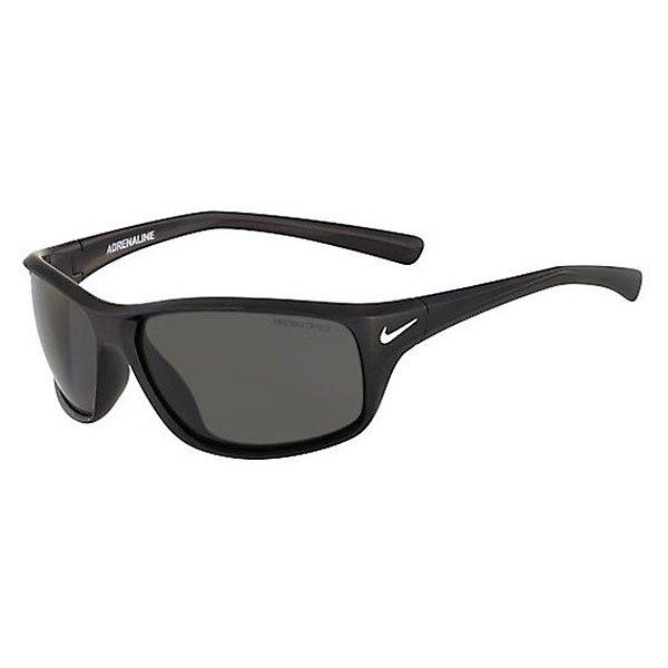 Очки Nike Optics Adrenaline Stealth/Grey LensСтильные и функциональные солнцезащитные очки для спортсмена, живущего в каждом из нас. Легкий каркас и технология Nike Max Optics обеспечивают четкость зрения под любым углом и являются достаточно универсальными для повседневного использования.Технические характеристики: Легкий нейлоновый каркас для комфорта и долговечности.100% защиты от УФ-лучей.Петли Cam-action.Технология Nike Max Optics - это передовое высокоточное оптическое решение для спортсменов. В сочетании с фотохромной технологией Transitions эти линзы способны адаптироваться к различным условиям спортивной деятельности и к изменениям освещения. Идеальные линзы для самых высоких спортивных результатов.Логотип Nike.Ширина оправы 13,5 см, длина дужки 11,5 см, ширина линзы 6,4 см, высота линзы 4,2 см.<br><br>Цвет: мультиколор<br>Тип: Очки<br>Возраст: Взрослый<br>Пол: Мужской