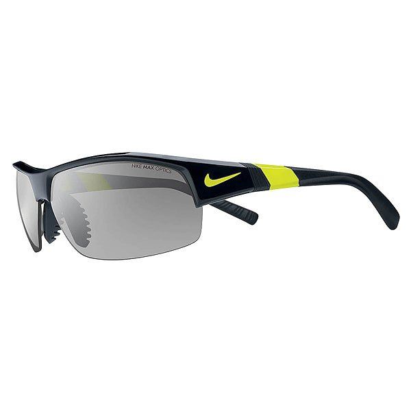 Очки Nike Optics Show X1 Grey Silver Flash Outdoor Lens Black/Volt