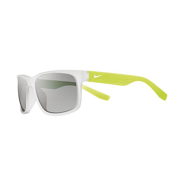 Очки Nike Optics Cruiser Matte Crystal Clear/Matte Crystal Volt Grey W/Silver Flash Lens