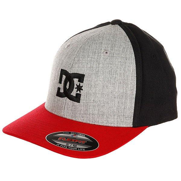 Бейсболка классическая DC Cap Star 2 Chili Pepper/Grey<br><br>Цвет: красный,серый,черный<br>Тип: Бейсболка классическая<br>Возраст: Взрослый