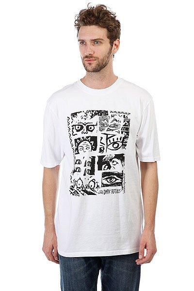 Футболка Quiksilver Looksstee White футболка quiksilver dontsnakmyvibss white