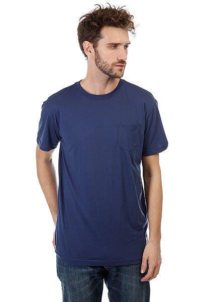 Футболка DC Basic Pocket Summer Blues<br><br>Цвет: синий<br>Тип: Футболка<br>Возраст: Взрослый<br>Пол: Мужской