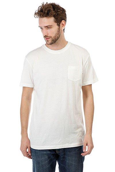 Футболка DC Basic Pocket Lily White<br><br>Цвет: белый<br>Тип: Футболка<br>Возраст: Взрослый<br>Пол: Мужской
