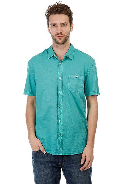 Рубашка Quiksilver Timebox Viridine Green