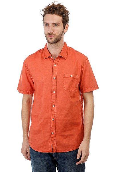 Рубашка Quiksilver Timebox Sienna<br><br>Цвет: оранжевый<br>Тип: Рубашка<br>Возраст: Взрослый<br>Пол: Мужской