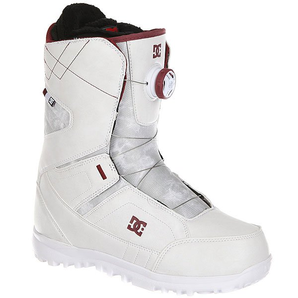 Ботинки для сноуборда женские DC Search White/Syrah женские комбинезоны для сноуборда