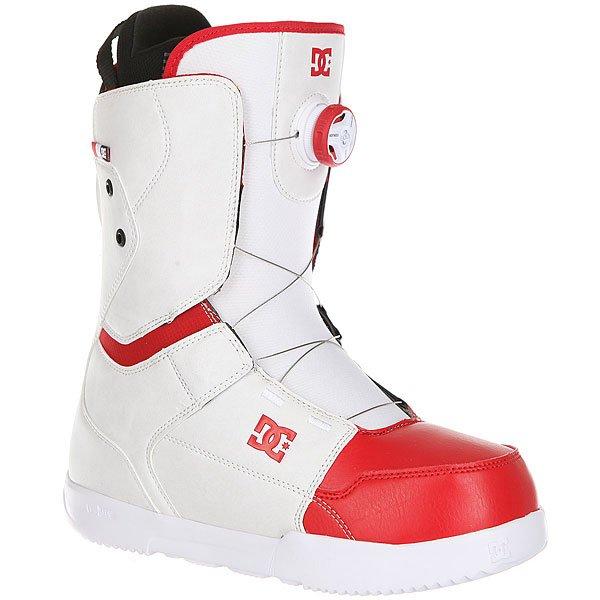 все цены на Ботинки для сноуборда DC Scout White/Red онлайн