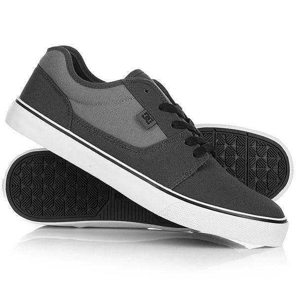 Кеды кроссовки низкие DC Tonik Tx Charcoal/Cool Grey кеды кроссовки высокие женские dc rebound high tx navy gum