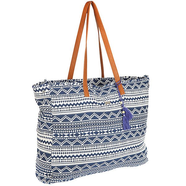 Сумка женская Roxy Single Water Blue Depths roxy сумка женская roxy needle tote patriot blue