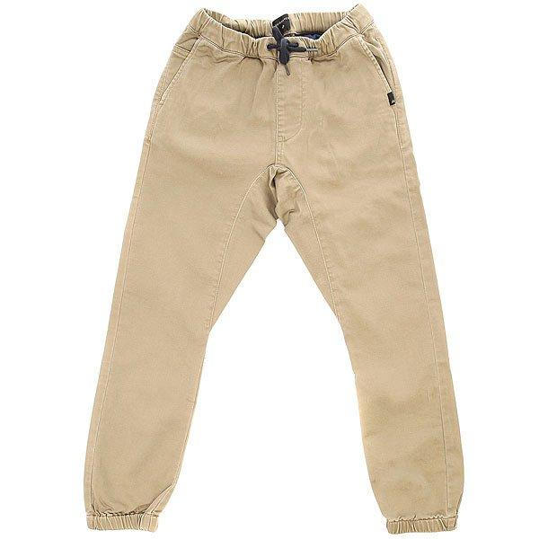 Штаны прямые детские Quiksilver Fonic Youth Elmwood<br><br>Цвет: бежевый<br>Тип: Штаны прямые<br>Возраст: Детский
