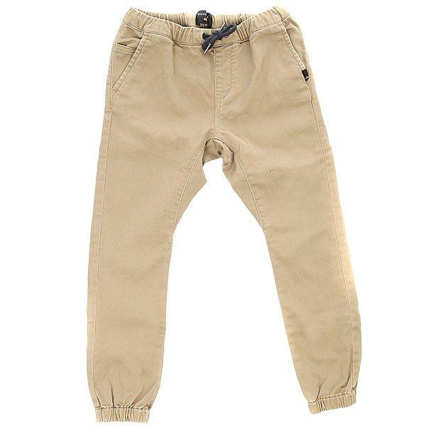 Штаны прямые детские Quiksilver Fonic Boy Elmwood<br><br>Цвет: бежевый<br>Тип: Штаны прямые<br>Возраст: Детский
