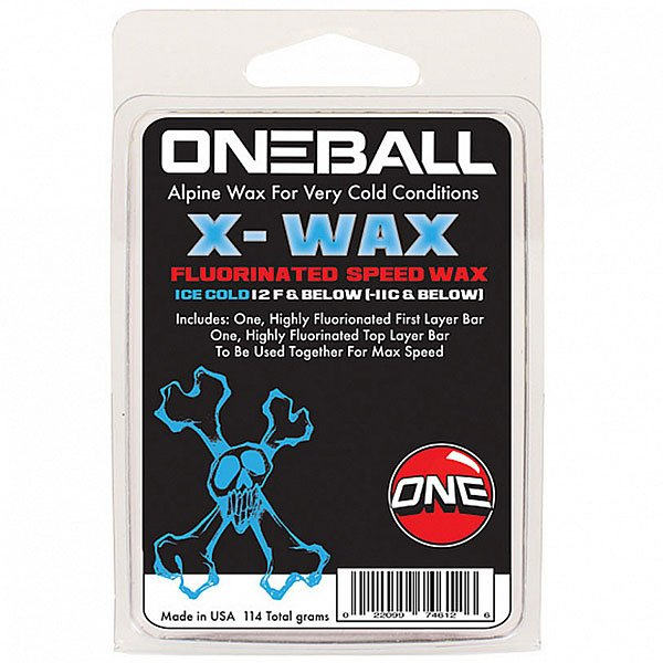 Парафин Oneball Bulk X-wax Ice Cold Assorted парафин oneball 4wd warm assorted