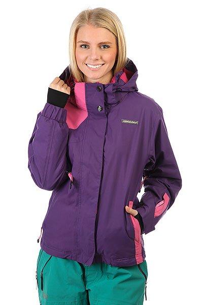 Куртка утепленная женская Santa Cruz Sc 10/11 Evie Purp<br><br>Цвет: розовый,фиолетовый<br>Тип: Куртка утепленная<br>Возраст: Взрослый<br>Пол: Женский