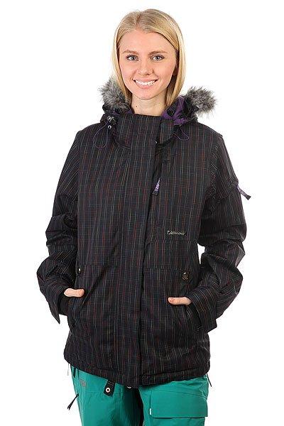 Куртка утепленная женская Santa Cruz Sc 10/11 Ayla Blk RainУниверсальная куртка, которая создана для города и активного отдыха. Удобный крой, необходимые детали в виде карманов и съемной снежной юбки, позволят носить куртку хоть каждый день. А в более холодную погоду можно легко утеплиться дополнительным слоем одежды.Характеристики:Воздухопроницаемая подкладка из сетки и тафты. Регулируемый капюшон. Нагрудные карманы и карманы для рук.Вентиляционные отверстия на молнии с подкладкой из сетки. Эластичные манжеты на кнопке. Съемная снежная юбка. Подол на утяжке для регулировки объема и защиты от ветра. Застежка на молнии с ветрозащитным клапаном на липучках.Просторный крой, не сковывающий движений.<br><br>Цвет: черный<br>Тип: Куртка утепленная<br>Возраст: Взрослый<br>Пол: Женский