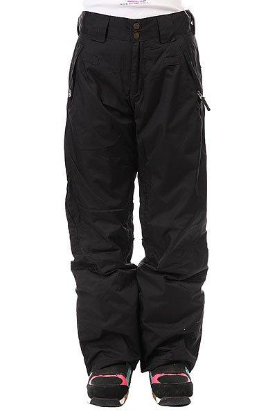 Штаны сноубордические женские Santa Cruz Sc Chute 10k BlackЖенские штаны для катания на сноуборде SANTA CRUZ Chute.Характеристики:Классический крой и скрытая регулировка пояса для идеальной посадки. Паропроницаемая и водонепроницаемая мембрана с показателями 10000/10000 в сочетании с полностью проклеенными швами защищает владелицу от ветра и осадков. Долговечная внешняя ткань. Вентиляция на молниях обеспечивает необходимую циркуляцию воздуха при активном катании. Манжеты в штанинах не дают снегу забиться внутрь. Два кармана на молниях спереди, карабин для ключей или ски-пасса и регулировка штанин по ширине. Можно соединить с курткой соответствующей модели.<br><br>Цвет: черный<br>Тип: Штаны сноубордические<br>Возраст: Взрослый<br>Пол: Женский