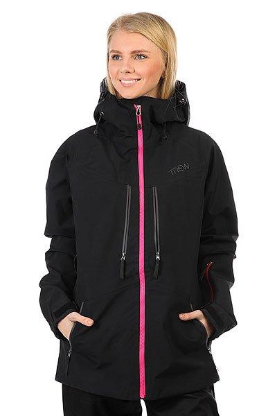 Куртка утепленная женская Trew Gear Stella BlackTREW GEAR позиционируют себя, как одежда для фрирайдеров, для тех, кто любит и понимает горы, не зависимо от того, сноубордист ты или лыжник.Поэтому это функциональная, долговечная и стильная одежда. Сочетание высокотехнологичных материалов и не шаблонный стиль – это и есть Trew gear.Характеристики:Мембрана Entrant Dermizax. Молнии YKK Aquaguard. Проклеенные ветро- водонепроницаемые швы и молнии. Снегозащитная юбка. Вентиляционные отверстия подмышками на молнии. Большие внутренние карманы для маски. Липучки на манжетах. Высокий воротник. Регулируемый капюшон с утяжкой. 4 наружных кармана. Карман для ски-пасса.<br><br>Цвет: черный,розовый<br>Тип: Куртка утепленная<br>Возраст: Взрослый<br>Пол: Женский