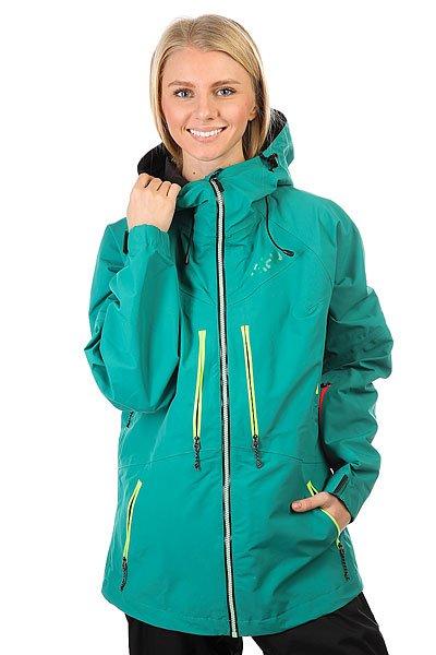 Куртка утепленная женская Trew Gear The Stella EmeraldTREW GEAR позиционируют себя, как одежда для фрирайдеров, для тех, кто любит и понимает горы, не зависимо от того, сноубордист ты или лыжник.Поэтому это функциональная, долговечная и стильная одежда. Сочетание высокотехнологичных материалов и не шаблонный стиль – это и есть Trew gear.Характеристики:Мембрана Entrant Dermizax.Молнии YKK Aquaguard. Проклеенные ветро- водонепроницаемые швы и молнии. Снегозащитная юбка. Вентиляционные отвертия подмышками на молнии.Большие внутренние карманы для маски. Липучки на манжетах. Высокий воротник. Регулируемый капюшон с утяжкой. 4 наружных кармана. Карман для ски-пасса.<br><br>Цвет: зеленый<br>Тип: Куртка утепленная<br>Возраст: Взрослый<br>Пол: Женский