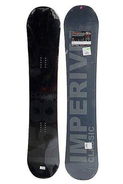 Сноуборд Imperivm 11/12 Classic 160 True BlackШирокий сноуборд от брендаIMPERIVM CLASSIC. Отличное снаряжение для катания, каждая ростовка сноуборда представлена в своем дизайне.Характеристики:Наборный сердечник из дерева обеспечивает высокую степень контроля, и превосходную отзывчивость доски. Благодаря средней жесткости доска прощает мелкие ошибки. Скользяк из экструдированного полиэтилена не требует дорогостоящего и трудоёмкого обслуживания легко ремонтируется, и прекрасно скользит в любых условиях. Направленная форма делает спуск плавным и управляемым. Классический прогиб даёт устойчивость, скорость и манёвренность.<br><br>Цвет: мультиколор<br>Тип: Сноуборд<br>Возраст: Взрослый<br>Пол: Мужской