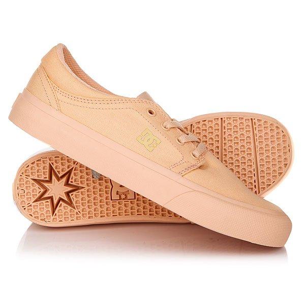 Кеды кроссовки низкие женские DC Trase Tx Peachie PeachКлассические всеми любимые DC Trase TX SE с аккуратным силуэтом, которые не перестают быть ежесезонной маст-хэв составляющей гардероба. Эти базовые кеды на удобной вулканизированной подошве готовы отлично вписаться в любой стиль, позволяя наслаждаться длительными прогулками в комфортной и удобной обуви.Характеристики:Фирменный логотип на язычке и сбоку.Металлические люверсы шнуровки. Плоские вощеные шнурки с металлическими люверсами. Мягкая область лодыжки. Фирменный логотип на пятке. Гибкая каучуковая подошва. Фирменный цепкий протектор Pill Pattern. Вулканизированная конструкция подошвы. Материал верха: прочный текстиль.<br><br>Цвет: розовый<br>Тип: Кеды низкие<br>Возраст: Взрослый<br>Пол: Женский